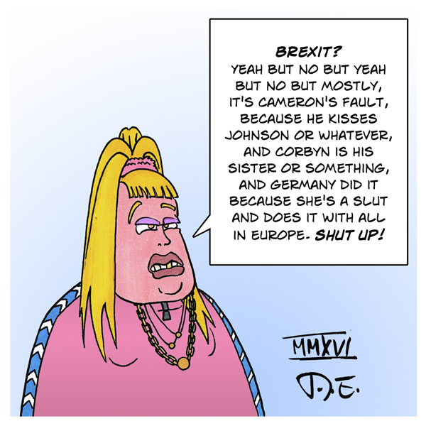 Little Britain Brexit Aftermath