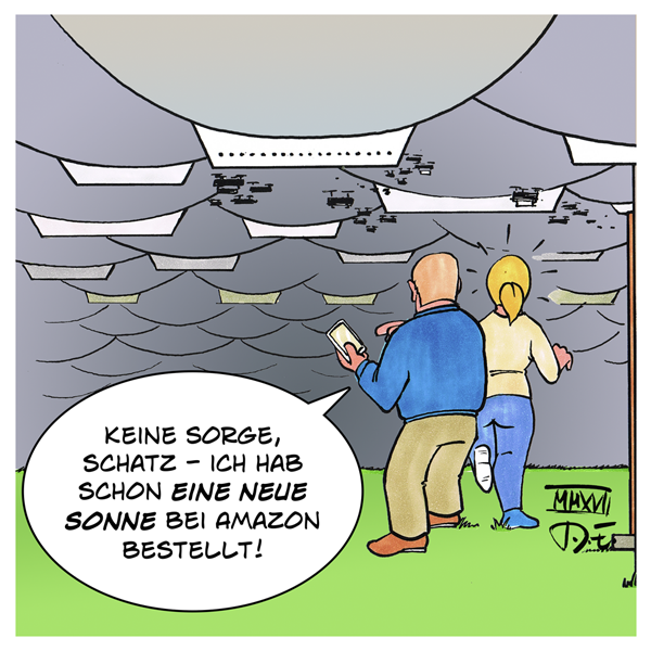 Amazon Waren Lager Himmel Zeppelin