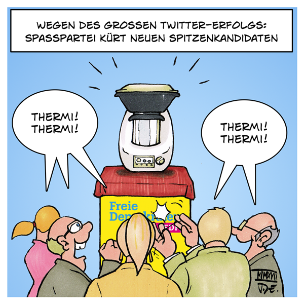 Christian Lindner FDP Social Media Twitter Meme Thermomix Themrilindner