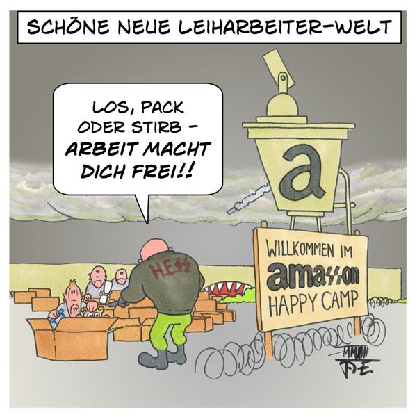 AmaSSon Amazon Arbeitslager Arbeiter Nazis Aufseher Sicherheitsdienst HESS
