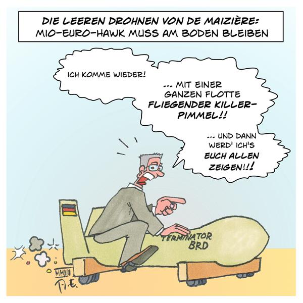 De Misere Drohnen Euro Hawk Bundeswehr