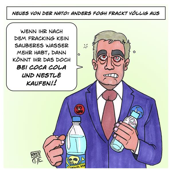 NATO Fracking Anders Fogh Rasmussen Umweltschutz Klimaschutz Grundwasser Trinkwasser Münchner Sicherheitskonferenz Klimastreik Jugendbewegung
