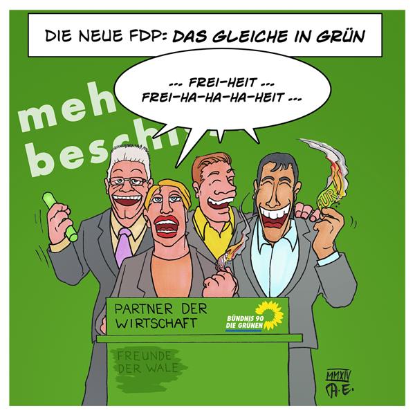 NeoFDP Grüne Parteitag