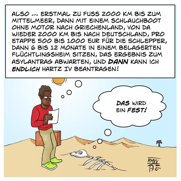 Fluchtplan Europa Einwanderung Wirtschaft Klima Krieg Diktaturen Geld Deutschland Flüchtlinge