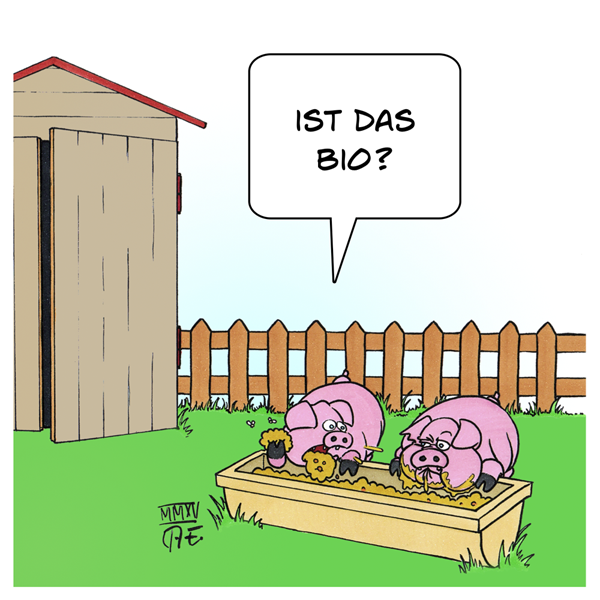Bio-Schweine Grüne Woche Berlin Umweltministerium Tierhaltung