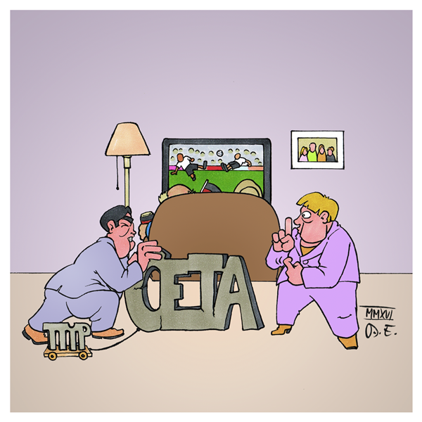 Fußball EM CETA TTIP