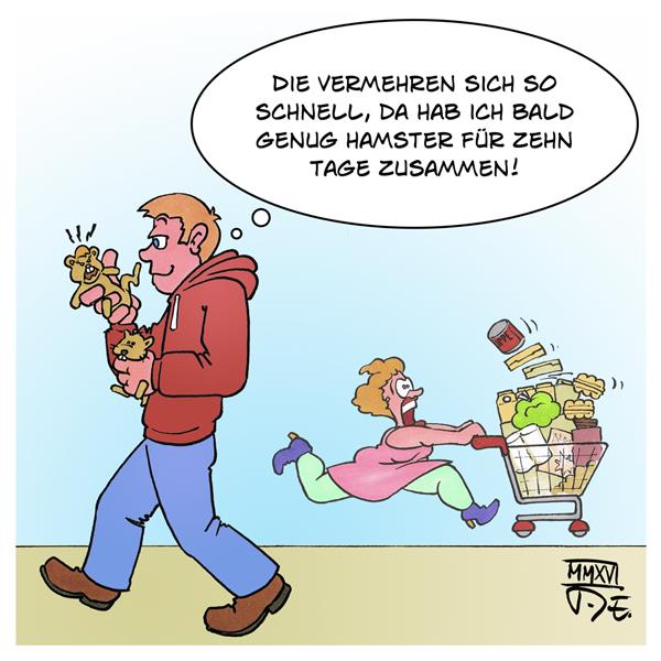 Hamster-Kauf Panik Pandämie