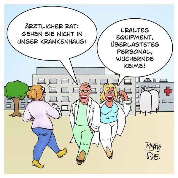 Krankenhäuser MRSA Keime Personal Pflege