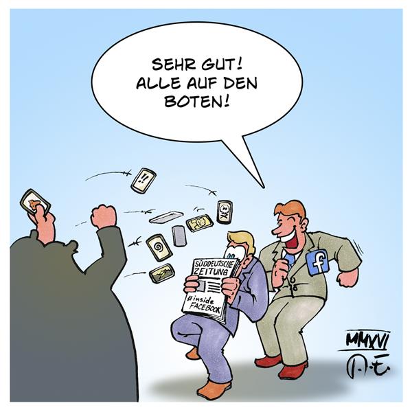 Süddeutsche Zeitung Facebook Zensur Arvato