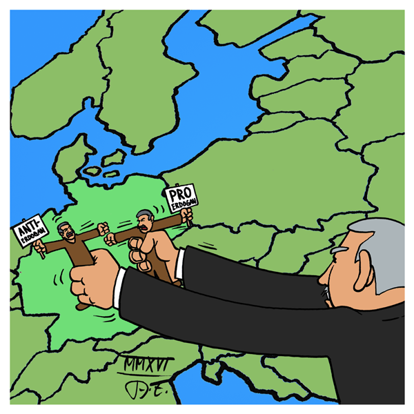 Erdogan Wahlkampf Deutschland Yildirim Köln Cavusoglu