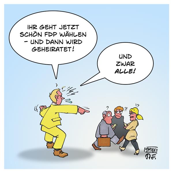 Lindner FDP Ehe für alle Homoehe Wahlkampf BTW17