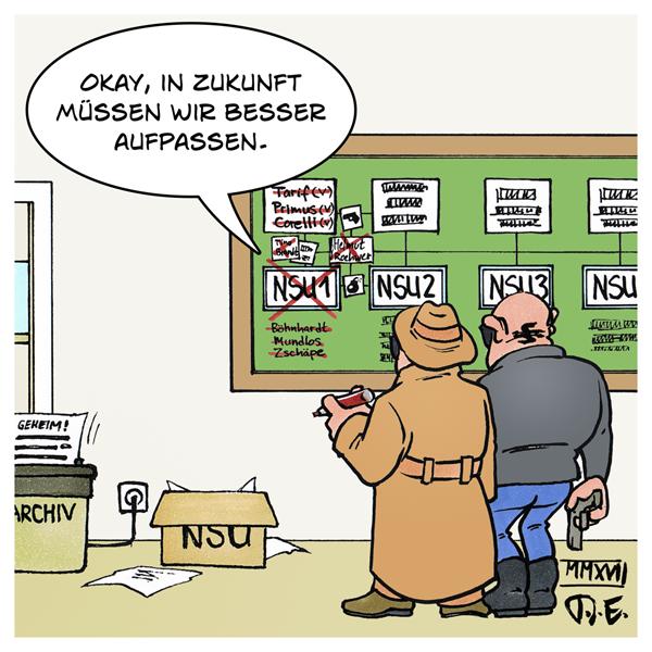 NSU 3 Täter Verfassungsschutz BfV Bilanz Prozess München
