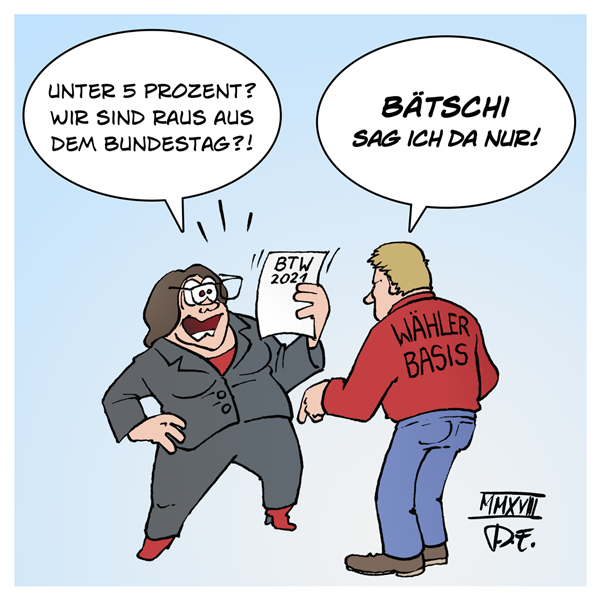 Andrea Nahles SPD Parteivorstand Wahlversprechen #BTW2017 Martin Schulz #GroKo Verräterpartei Wähler Abstrafung Konsequenzen Arbeiterpartei
