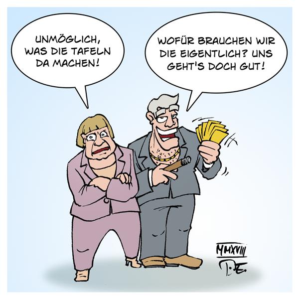 Essen Tafel Essener Tafel Tafeln Deutschland Armut Hunger Lebensmittel Altersarmut Renten Ausländer Versorgung Sicherheit