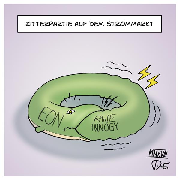 Innogy RWE EON grüne Energie grüner Strom Stromkonzerne Ökostrom Tochterfirma Atomkonzerne Strommarkt Monopol Übernahme