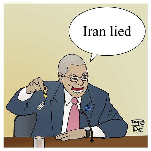 Iran Atomabkommen Sanktionen USA Israel Benjamin Netanjahu Netanyahu Colin Powell Irak 2003 Anthrax UN UNO PR Krieg