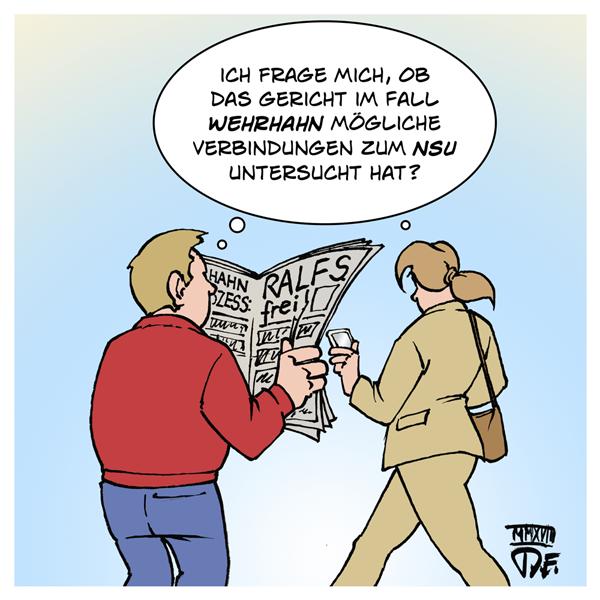 Wehrhahn Ralf S. Düsseldorf Bombenanschlag S-Bahnhof Deutschland rechter Terror NSU Ermittlungen