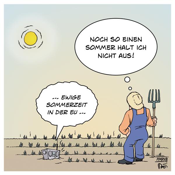 Sommerzeit EU Europäische Union Abstimmung Jean-Claude Juncker EU-Kommission Zeitumstellung Winterzeit Wirtschaft Gesundheit Sommer Hitze Hitzewelle