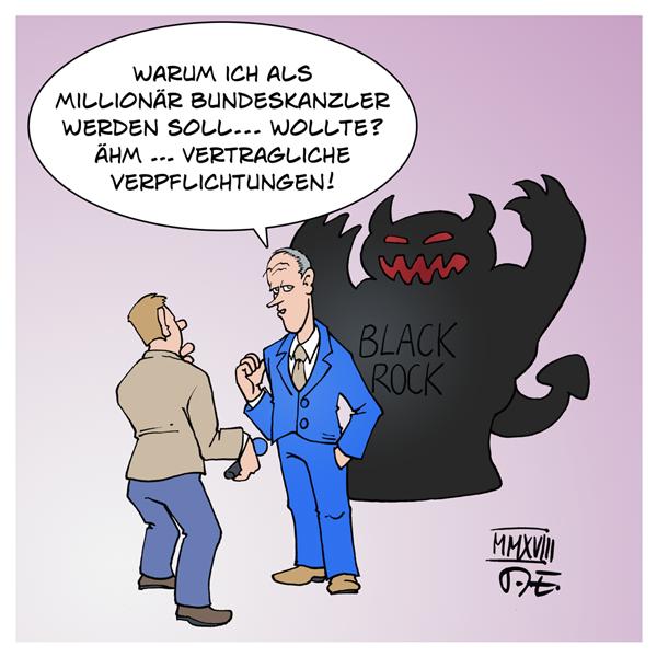 CDU Vorsitz Friedrich Merz Blackrock Vonovia Demokratie Wirtschaft Politik Drehtüreffekt Korruption Deutschland