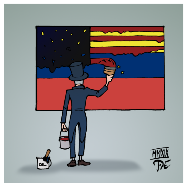 Venezuela USA Südamerika Bolivien Chavez Economic Hitmen Jackals Juan Guaidó Nicolás Maduro Contra-Affäre CIA Öl Oil The Revolution will not be televised