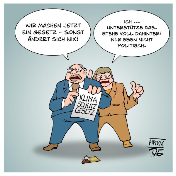 Klimaschutzgesetz Bundesregierung Angela Merkel Peter Altmaier Klima Klimaschutz Klimastreik FridaysForFuture Koalitionsvertrag GroKo CO2 Klimaschutzziele Deutschland Europa EU