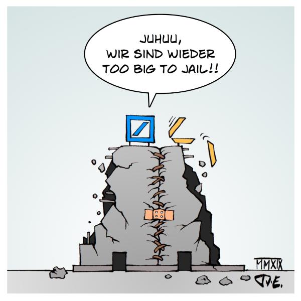 Deutsche Bank DeutscheBank Commerzbank Fusion Banken Bankenkrise CumCum CumEx PanamaPapers ParadisePapers Too big to fail too big to jail Finanzmarkt Immobilien Spekulation Spekulationsblase