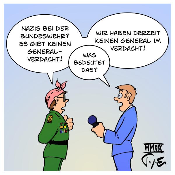 AKK Annegret Kramp-Karrenbauer Verteidigungsministerin Bundeswehr rechte Netzwerke rechte Strukturen Rechtsradikale Soldaten Nazis Deutschland Generalverdacht General Verdacht