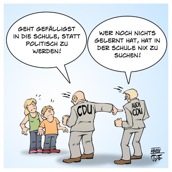 CDU FridaysForFuture Klimastreiks Schüler Linnemann Deutschunterricht Ausländer erste Klasse Schule Deutschland Schulpflicht Sprachen Sprachunterricht