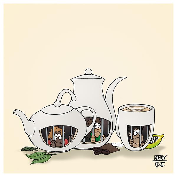 Kinder Kinderarbeit Armut Kolonialismus Kaffee Kakao Tee Zucker Handelsketten Nestle Darboven Tschibo Jacobs Billiglohnländer Konzerne Rohstoffe Agrarwirtschaft Landwirtschaft Entwicklungshilfe