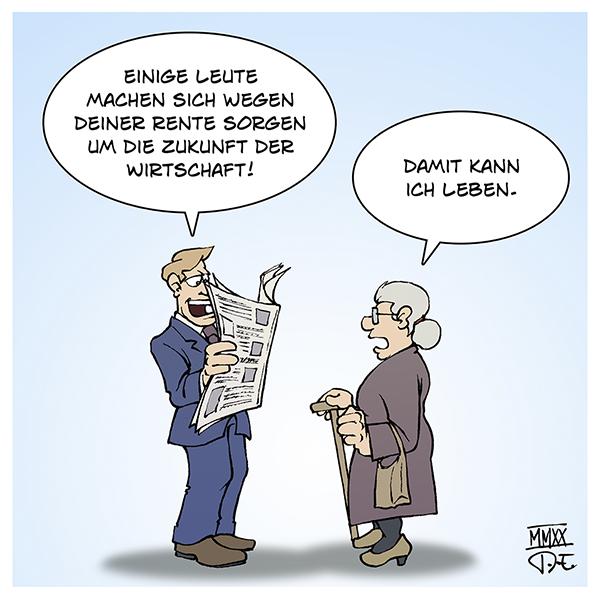 Grundrente Rente Wirtschaft Zukunft Angst Sorgen Deutschland Einkommen Sozialstaat CDU SPD Merz Lebensleistung Rentner Pensionen