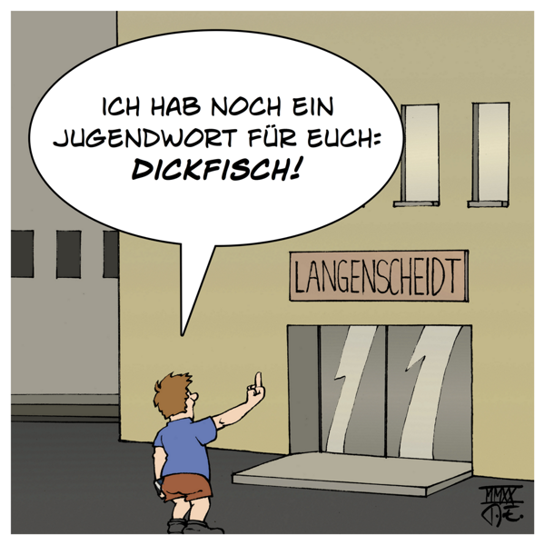 Jugendwort Gesellschaft für deutsche Sprache GdS Langenscheidt Verlag Jugendsprache Einreichungen Liste Sprache Medien Kultur PR