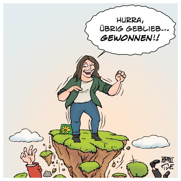 Landtagswahl Bundestagswahl Superwahljahr 2021 Deutschland Abwärtsvergleich Die Grünen Annelena Baerbock CDU SPD Wahlergebnisse Klimawandel Klimakrise Klimapolitik Ökologie Fridays For Future