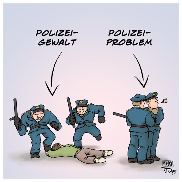 Polizei Polizeigewalt Polizeiproblem Racial Profiling Rechte Netzwerke Gewaltmonopol Demokratie Rechtsstaat Ermittlungen Strafverfahren Deutschland